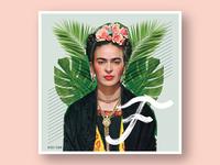 032/100: Frida Kahlo