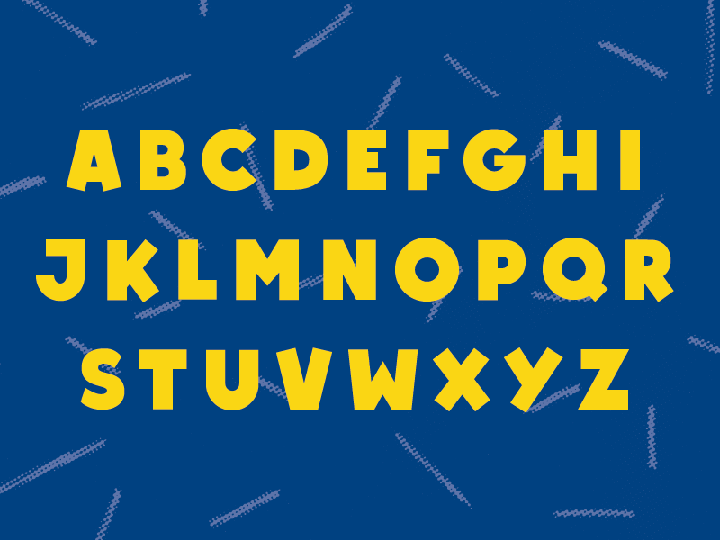 Font specimen drib2