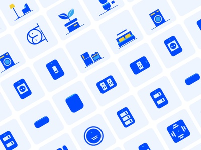 20 Icons - Smart Home icon design design illustration icon ui design app ios color ui sketch