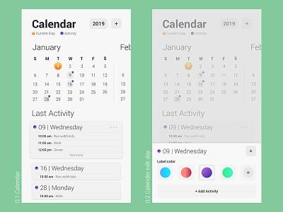 Calendar ux design user interface user experience ui design interactiondesign mobiledesign ux ui