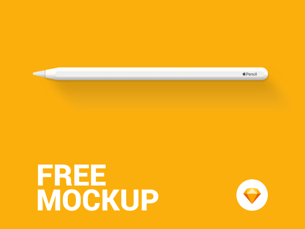 Apple Pencil - Free Mockup by Victor Momoi Santana on Dribbble