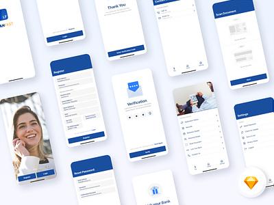Loan App V1.0 android ios app typography design ui design color ui ux sketch