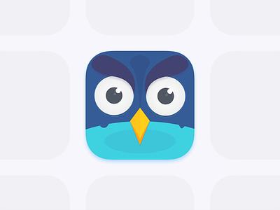 Icon App - Owly ios sketch color app icon