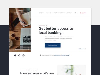 Community Bank - Homepage