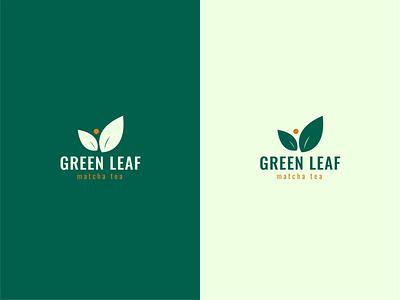 Green Leaf Logo logomark brand design branding design logo brand graphic design logo design