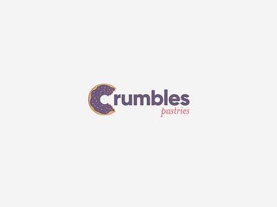 Crumbles Pastries Logo bakery logo identity design logo branding logo design graphic design
