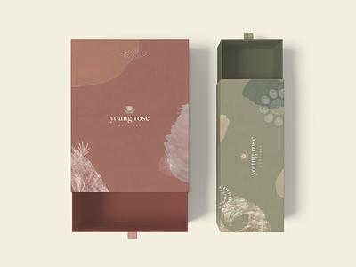 Young Rose Package Design branding design logomark brand packaging mockup mockup identity logo design branding logo design