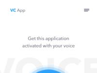 Voice activation