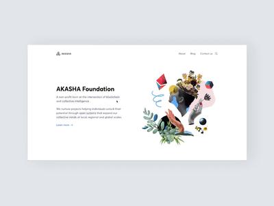 Akasha Website — Glossary 💬 animation cards interaction ethereum significa glossary illustration ui ux decentralized akasha website