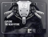 Game Website concept