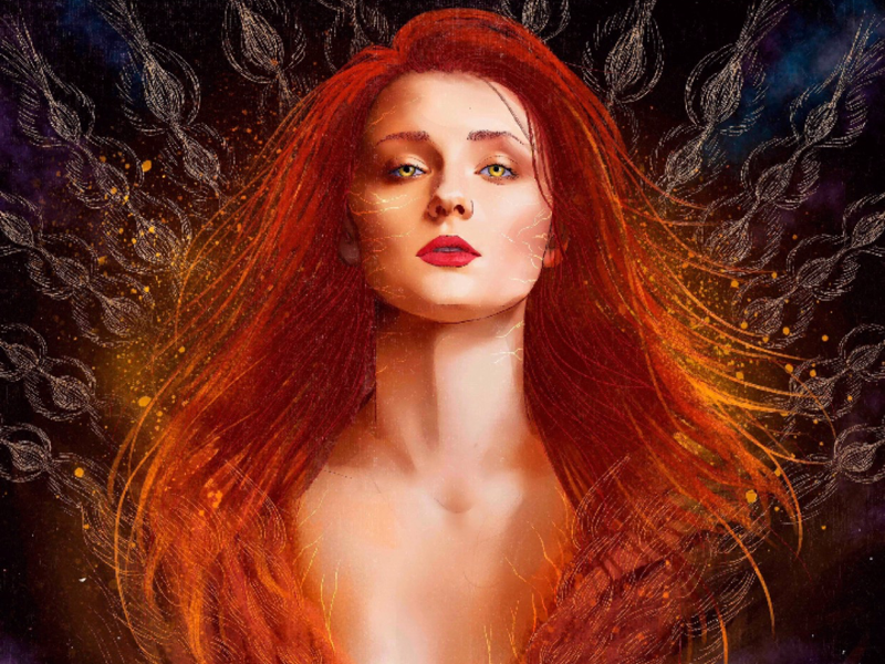 Jean Grey, Dark Phoenix by Yu,Ming Huang 黃昱銘 on Dribbble