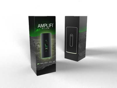 Amplifi Alien Packaging Concept package design packaging design router dimension packaging adobe branding design portland