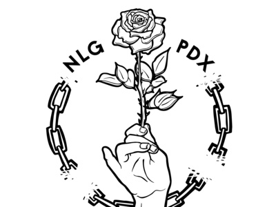 National Lawyers Guild PDX - Rejected Convention Logo