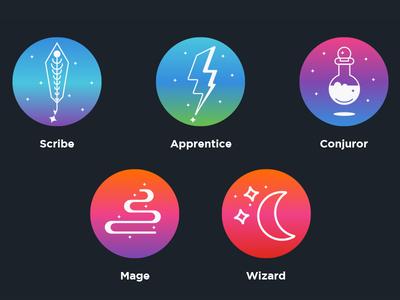 Class Icons - Fantasy Themed Reward Program