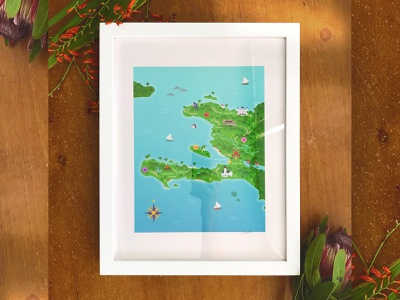 Map of Haiti adobe illustrator vector art icons iconography icon geography illustrator design mapillustration map illustration map illustration