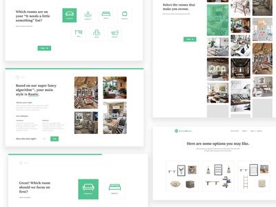 House2home website design web style ui ux
