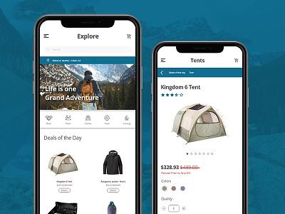 E Commerce Shop shop app mobile uidesign dailyuidesign