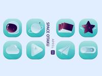 Space Otaku Icon4