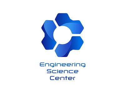 ESC logotype logo mark branding engineering science center