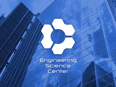 ESC onecolor logotype logo mark branding engineering science center