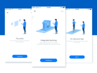 Payment App Onboarding Illustrations
