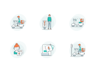 Service Status Icons designs, themes, templates and