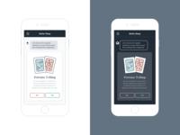 Better Sleep Mobile App Light & Dark Modes