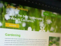 Landscaping Website