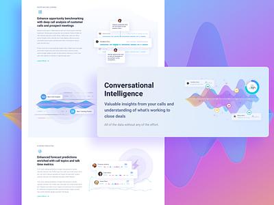 InsightSquared Marketing Site Design