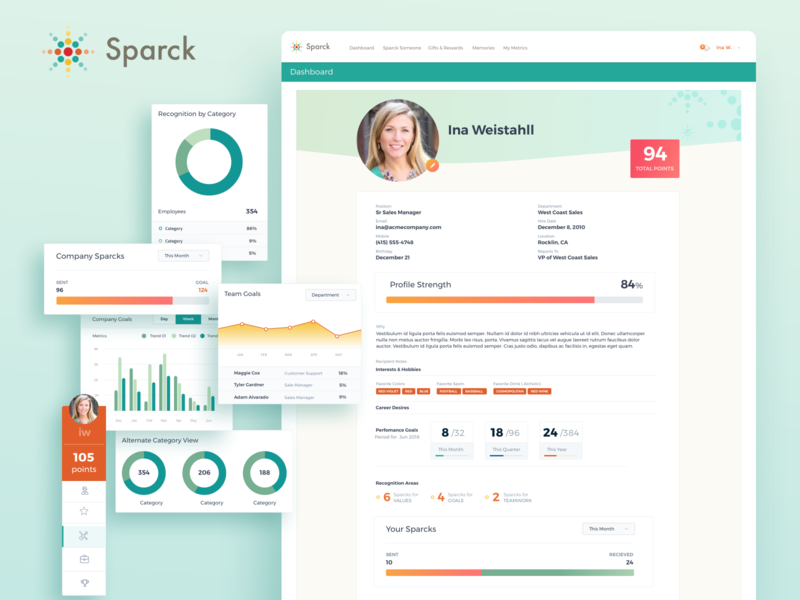 Sparck Employee Dashboard