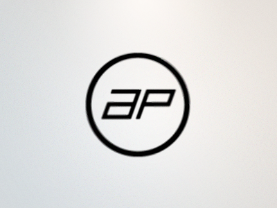 AutomotivePhotography.net Logo 2 rick landon rick landon rick landon design a p circle monogram logo