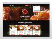 Chinese restaurant // Homepage