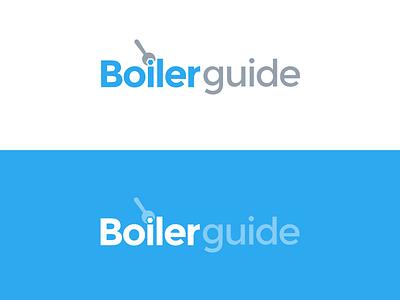 Boiler Guide Logo branding typography logo