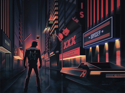 NightCrawler Metropolis Album album vinyl city 80s synthwave music neon retro future nightcrawler