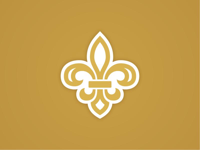 Fleur-de-lis Icon logo branding fleur-de-lis design icon