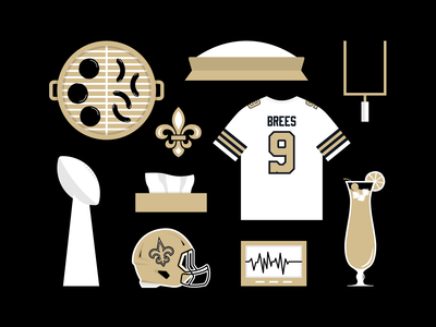 Saints Fan Starter Pack