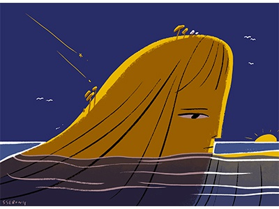 SEA. illustration character ssebong