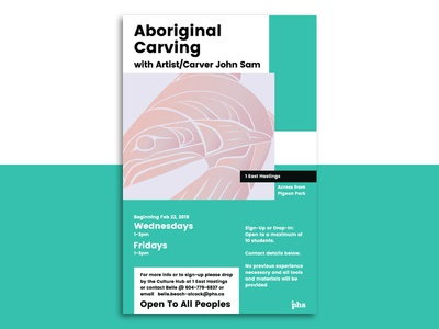 Aboriginal Carving poster