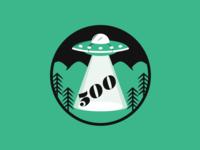 UFO progress badge