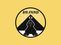 Sphinx/Pyramids/Illuminati progress badge
