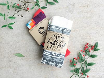 Socks custom lettering lettering hand lettering christmas