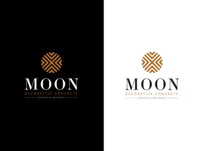 Moon Decorative Concrete Logo brand book watercolor icon set icons logo guide branding guide branding