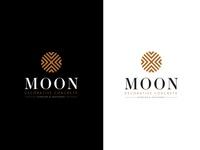 Moon Decorative Concrete Logo
