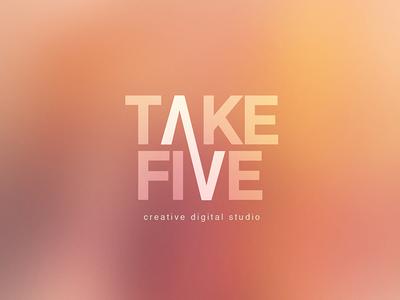 Take Five - Creative digital studio logo graphic design design