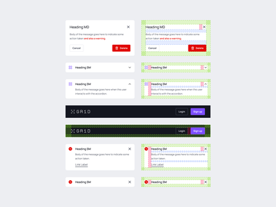 Spacing Design Token ui visual design design systems guidelines ui components components ui elements cards dashboard web grid handoff library style guide design system