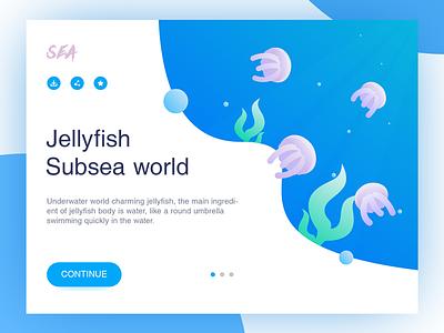 The undersea world jellyfish ps poker illustrations spades
