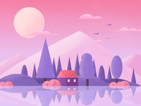 Scenery Illustrations