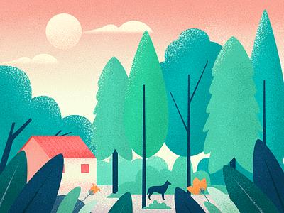 scenery illustrations scenery illustrations illustrations photoshop