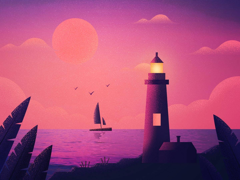 Quiet sunset ps 插图 quiet sunset