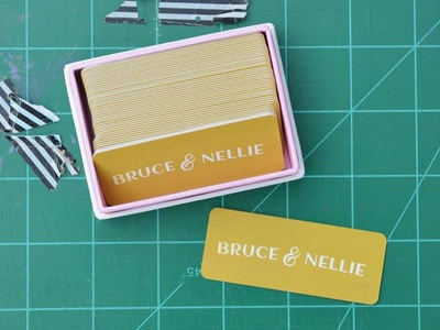 Bruce & Nellie Business Cards